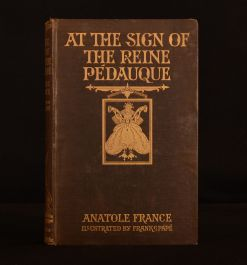 1922 At the Sign of the Reine Pedauque Anatole France Jackson Pape Illustrated