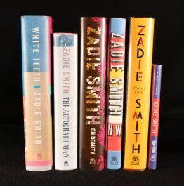 2000-2016 Zadie Smith First Edition Novels