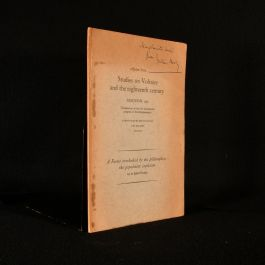 1963 Studies on Voltaire and the Eighteenth Century A Factor Overlooked by the Philosophes