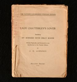 1929 Lady Chatterley's Lover