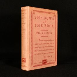 1931 Shadows on the Rock
