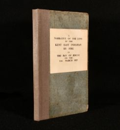 1825 A Narrative of the Loss of the Kent East Indiaman, By Fire, in the Bay of Biscay
