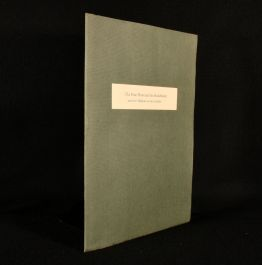 2002 The Fine Press and the Bookbinder and Their Influence on One Collector