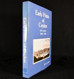 1985 Early Prints of Ceylon
