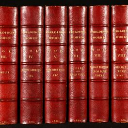 1882 The Works of Henry Fielding, ESQ.
