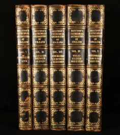1836 Cathedral Antiquities Historical and Descriptive Accounts