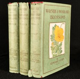 1933 3vol Wayside and Woodland Blossoms