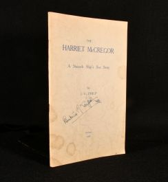 1934 The Harriet McGregor a Staunch Ship's Sea Story