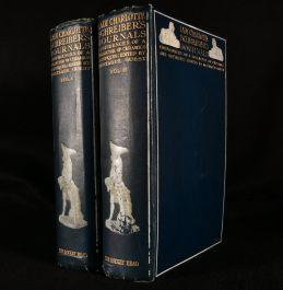 1911 Lady Charlotte's Schreiber's Journals