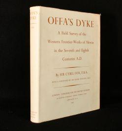 1955 Offa's Dyke a Field Survey of the Western Frontier-Works of Mercia