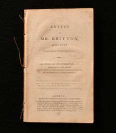 1801 A Letter to Mr Britton Minister at Downham, in the Isle of Ely