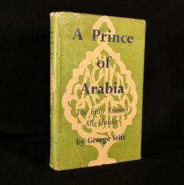 1948 A Prince of Arabia the Emir Shereef Ali Haider