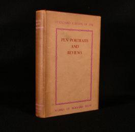 1932 Pen Portraits and Reviews
