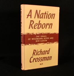 1960 A Nation Reborn the Israel of Weizmann Bevin and Ben-Gurion