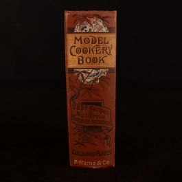 1879 Warne's Model Cookery with Complete Instructions in Household Management