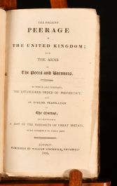 1816 The Present Peerage of the United Kingdom
