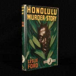 1947 Honolulu Murder Story