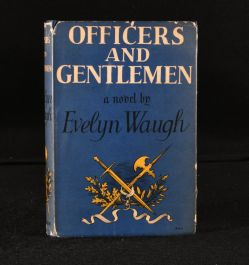 1955 Officers and Gentlemen Evelyn Waugh Dustwrapper
