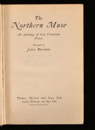 1924 The Northern Muse an Anthology of Scots Vernacular Poetry