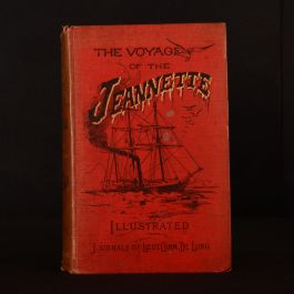 1883 2vols The Voyage of the Jeanette Ship and Ice Journals George W De Long