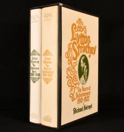 1968 2Vol. Lytton Strachey: A Critical Biography