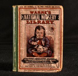 c1873 Warne's National Nursery Library