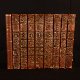 1751 9vols Works of Alexander Pope With Corrections Additions and Improvements