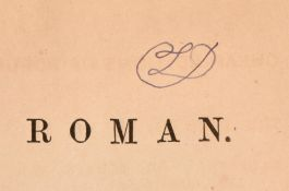 1852 Lewis Carroll's copy of The Roman
