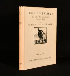 1929 The Old Tribute and Other Pieces Translated From the Gaelic