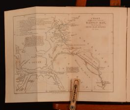 1860 An Arctic Boat-Journey Isaac Israel Hayes Folding Maps Illustrated