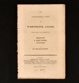c1825 The Remarkable Story of Wrestling Jacob