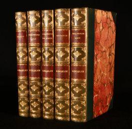 1902-3 Five Novels by Charles Kingsley