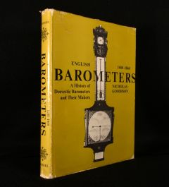 1969 English Barometers 1680-1860