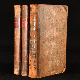 1819 3vol The Annual Biography and Obituary