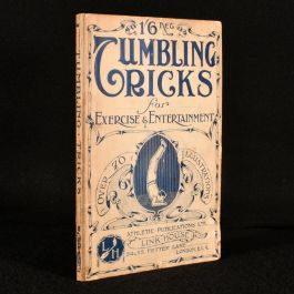 c1920 Tumbling Tricks for Exercise and Entertainment