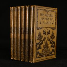 1896 6vol The Natural HIstory of Plants