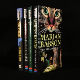 1995-99 Four Collins Crimes Mystery Novels