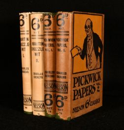 1913-20 The Pickwick Papers Martin Chuzzlewit