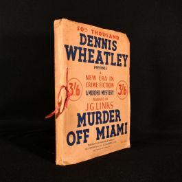 c1936 Murder Off Miami