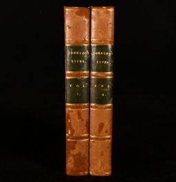 1824 The Lives of the Most Eminent English Poets