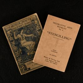 1927 Two Works on the Art of Stencilling