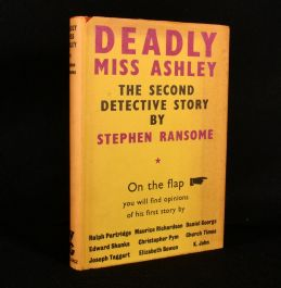 1950 The Deadly Miss Ashley