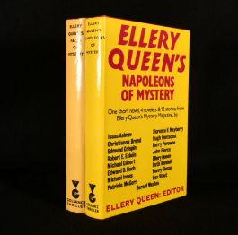 1978-80 Ellery Queen's Faces of Mystery Ellery Queen's Napoleons of Mystery