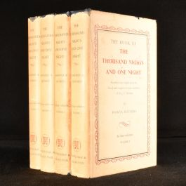 1964 4vol The Book of the Thousand Nights and One Night