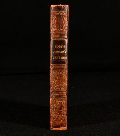 1836 Todd's Johnson's Dictionary