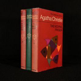 1968-9 Three Murder Mystery Novels by Agatha Christie