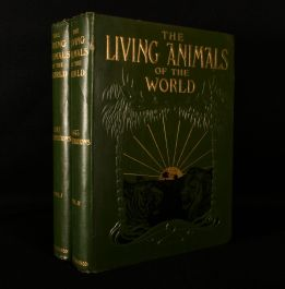 1906 The Living Animals of the World a Popular Natural History