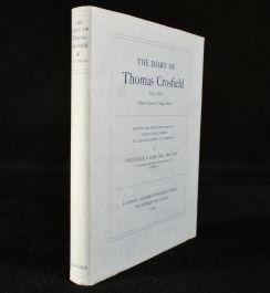 1935 The Diary of Thomas Crosfield