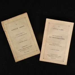 1838 2vol The Little Dove and The Little Lamb