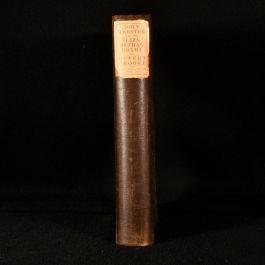 1916 John Webster & the Elizabethan Drama